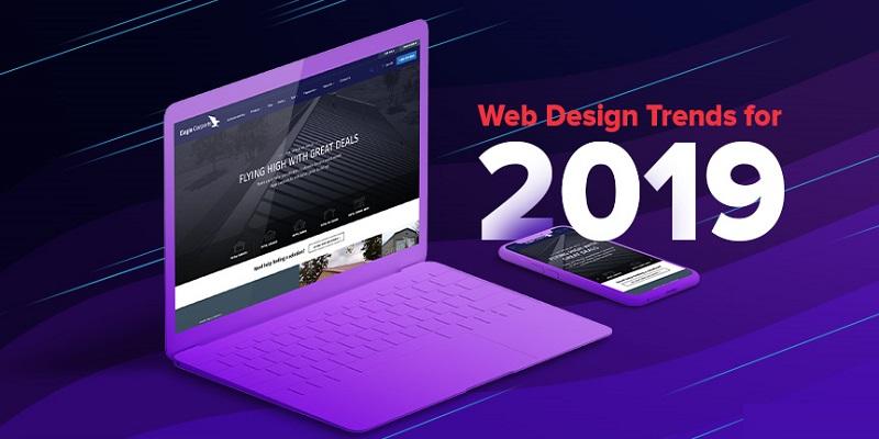 5 Xu hướng thiết kế website 2019 không nên bỏ qua